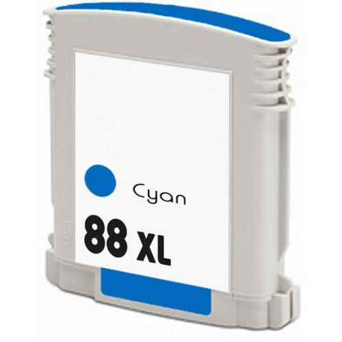 Tinta C9391A - 88XL Hp compatible cian