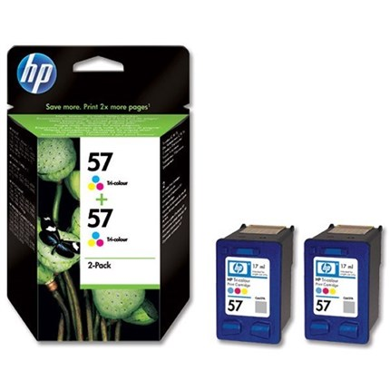 Tinta C9503AE - 57 Hp color Pack 2
