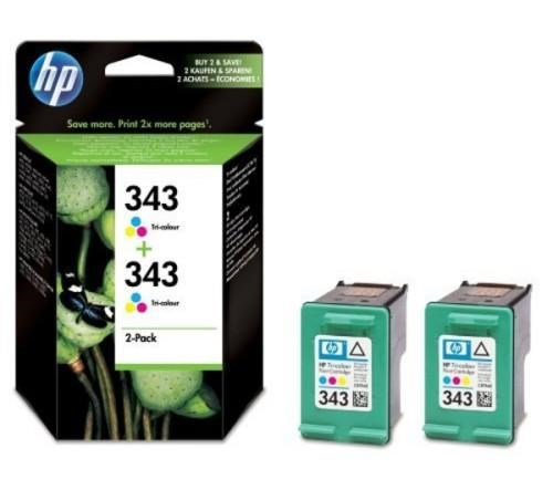 Tinta CB332EE - 343 Hp color Pack 2