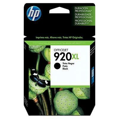 HP 920XL - CD975AE tinta negro