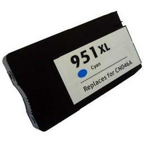 Tinta CN046AE - 951XL Hp compatible cian