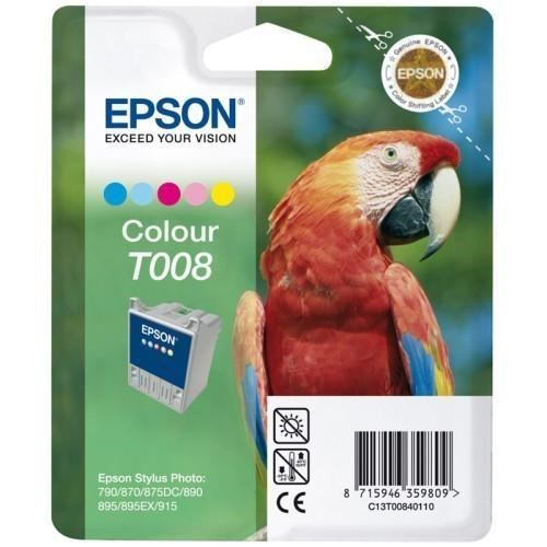 Epson T008 tinta color