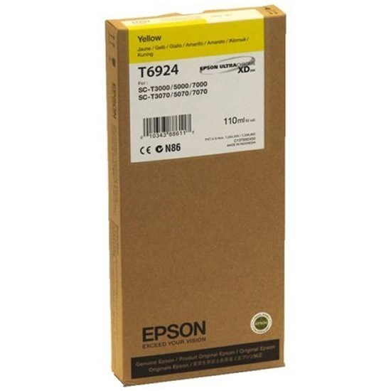 Epson T6924 tinta amarillo 110 ml