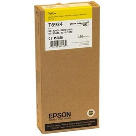 Tinta Epson T6934 amarillo 350 ml
