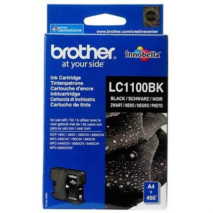 Tinta LC-1100BK Brother negro