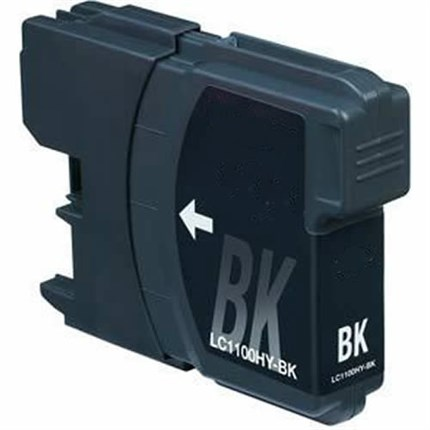Tinta LC-1100HYBK Brother compatible negro