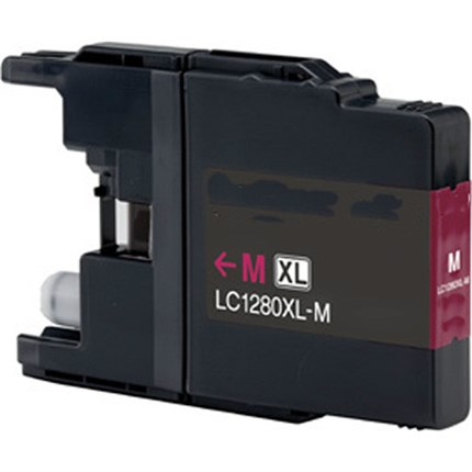 Tinta LC-1280XLM Brother compatible magenta