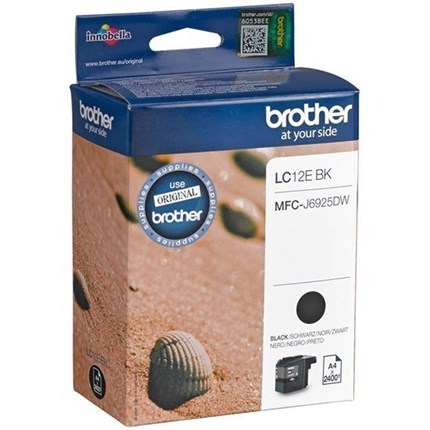 Brother LC-12EBK tinta negro