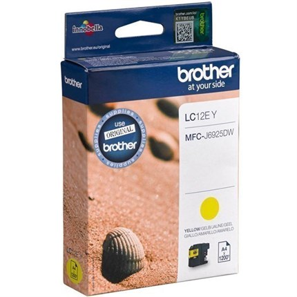 Brother LC-12EY tinta amarillo