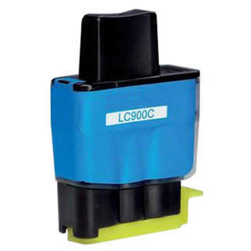 Tinta LC-900C Brother compatible cian