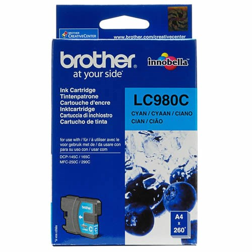 Brother LC-980C tinta cian