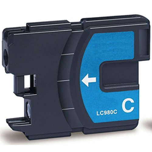 Tinta LC-980C Brother compatible cian