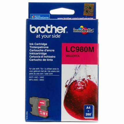 Tinta LC-980M Brother magenta