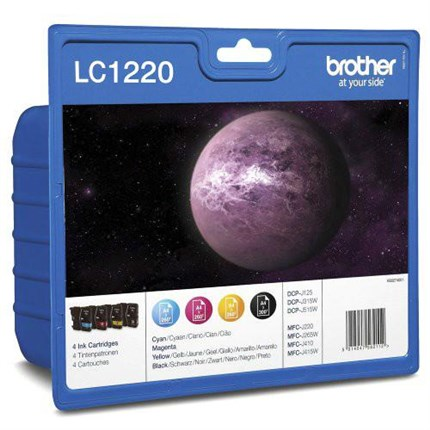Tinta LC1220VALBPDR Brother bk c m y