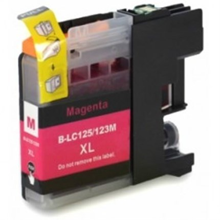 Tinta LC123M Brother compatible magenta