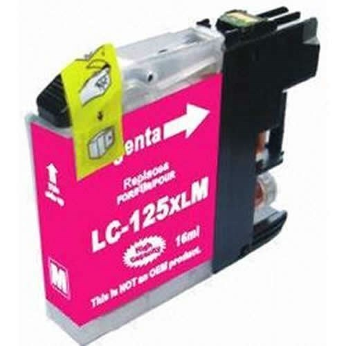 Tinta LC125XLM Brother compatible magenta 1200 paginas
