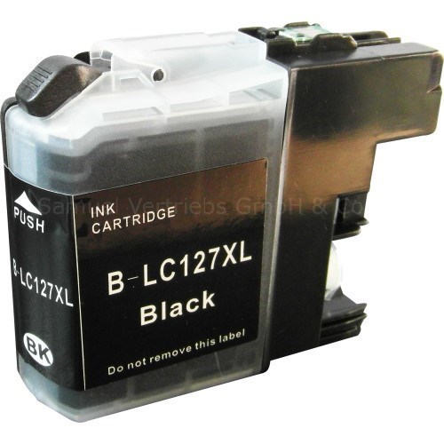 Tinta LC127XLBK Brother compatible 1200 paginas