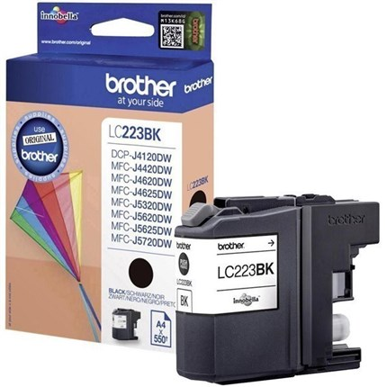 Brother LC223BK tinta negro original