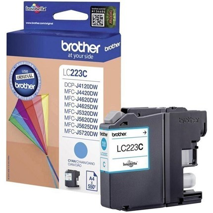 Brother LC223C tinta cian original