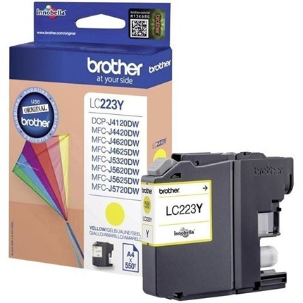 Brother LC223Y tinta amarillo