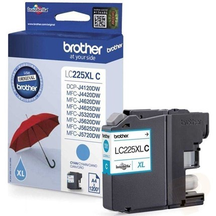 Brother LC225XLC tinta cian original