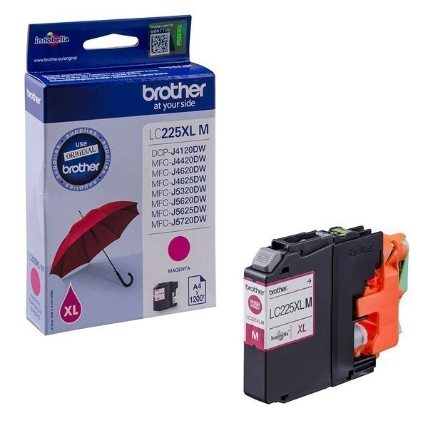 Brother LC225XLM tinta magenta