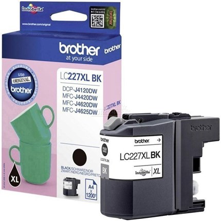 Brother LC227XLBK tinta negro