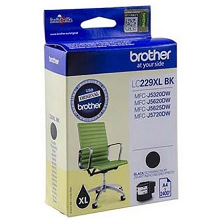 Brother LC229XLBK tinta negro