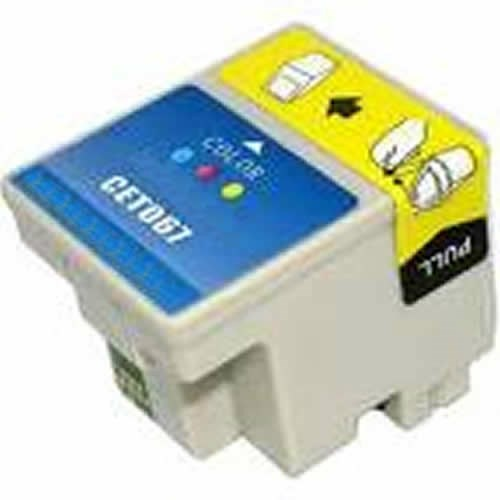 Tinta T067 Epson compatible color