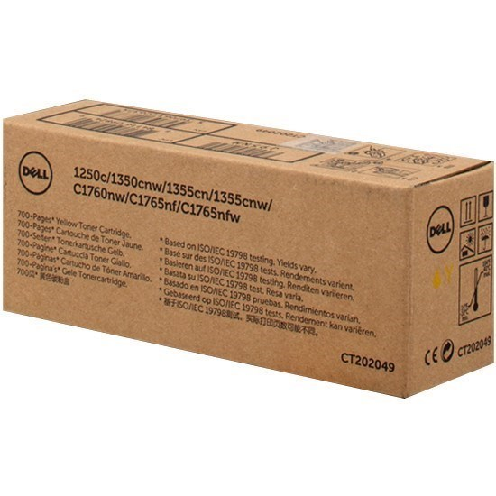 Toner 593-11147 - J95NM - 4NKC7 Dell amarillo