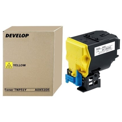 Develop A0X52D5 - TNP-51Y toner amarillo