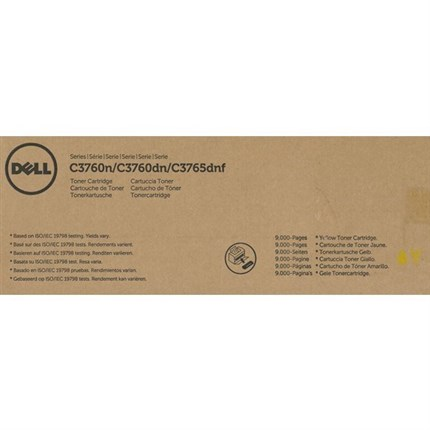 Dell 593-11120 - F8N91 - MD8G4 toner amarillo original