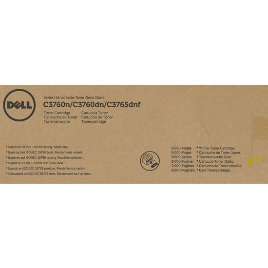 Dell 593-11120 - F8N91 - MD8G4 toner amarillo