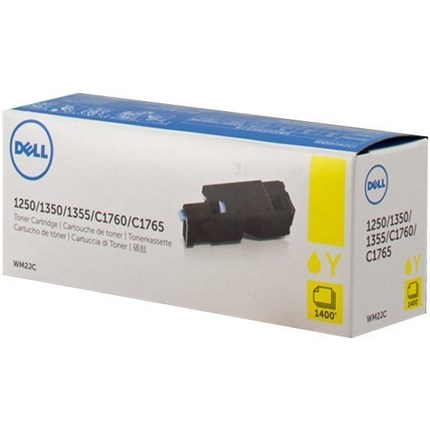 Toner Dell 593-11143 - W8X8P - WM2JC amarillo, alta capacidad