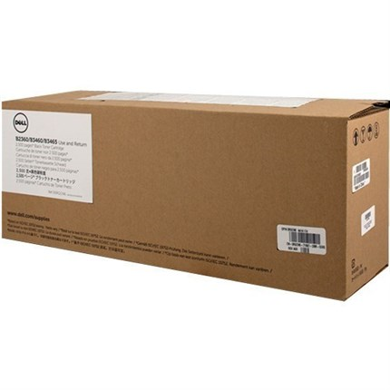 Toner Dell 593-11165 - 7MC5J - RGCN6 negro