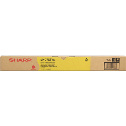 Sharp MX-27GTYA toner amarillo original