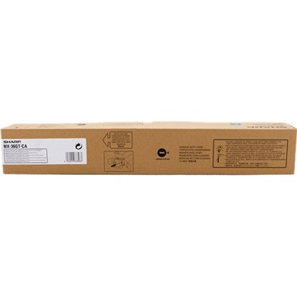 Toner Sharp MX-36GTCA cian