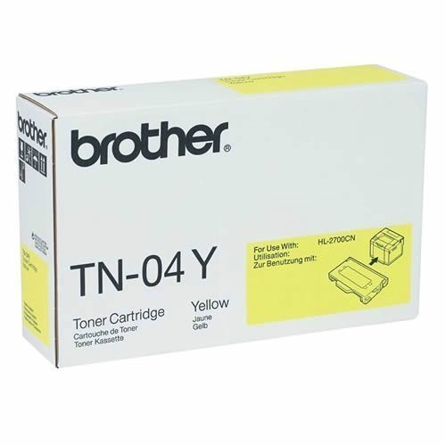 Toner TN-04Y Brother Amarillo