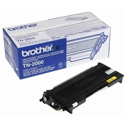 Brother TN-2000 toner negro original
