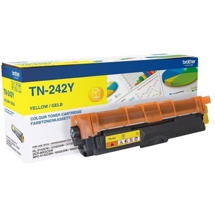 Brother TN-242Y toner amarillo