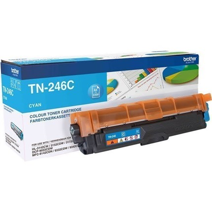 Brother TN-246C toner cian