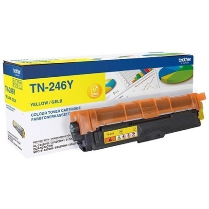 Brother TN-246Y toner amarillo