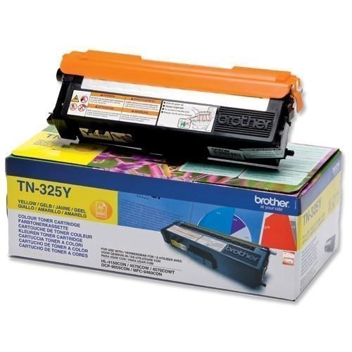 Brother TN-325Y toner amarillo